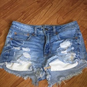 american eagle shorts (stretch)
